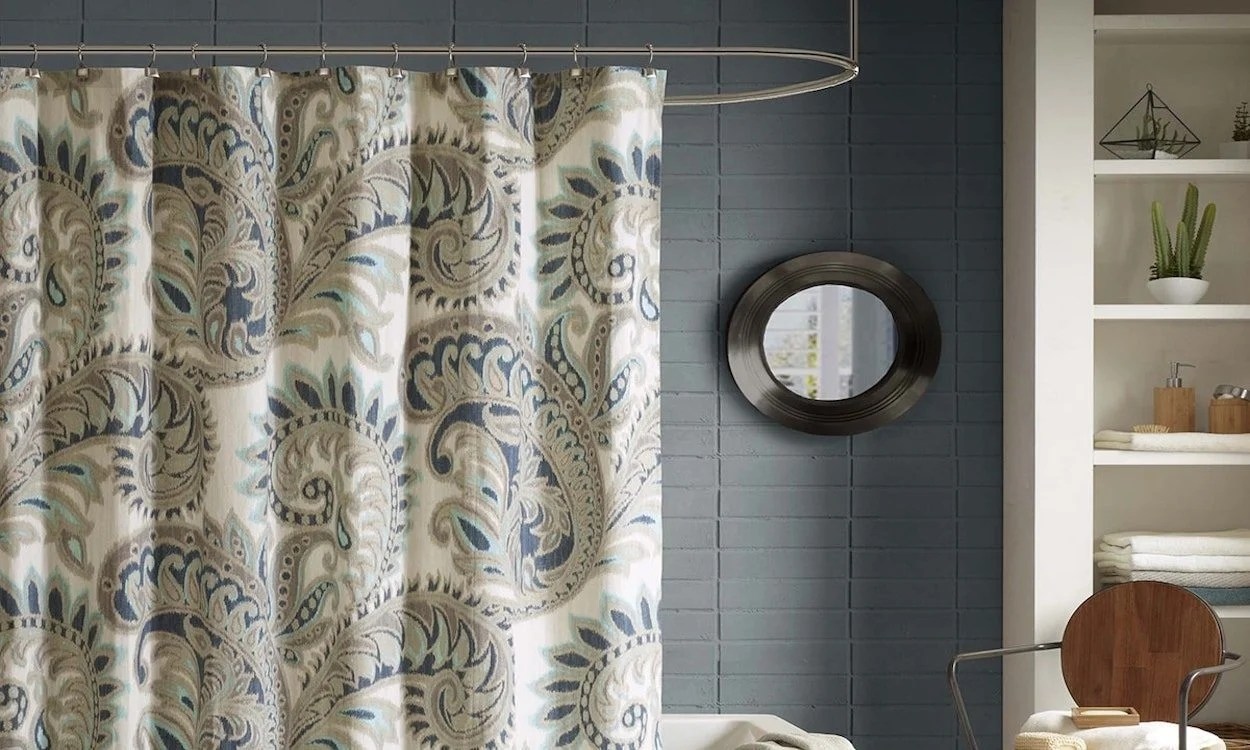 Shower Curtains Sale 3 Steps For How To Install A Shower Curtain Overstock