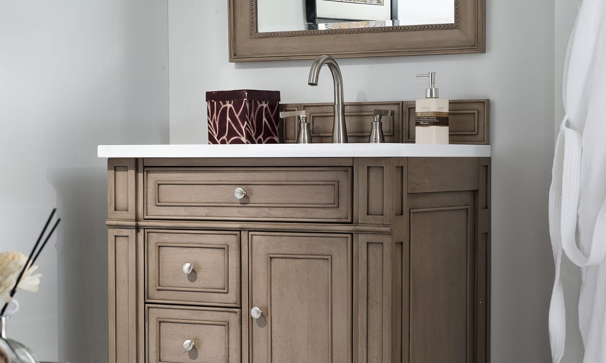 How To Make A Bathroom Vanity Cabinet How To Maximize Your Small Bathroom Vanity Overstock