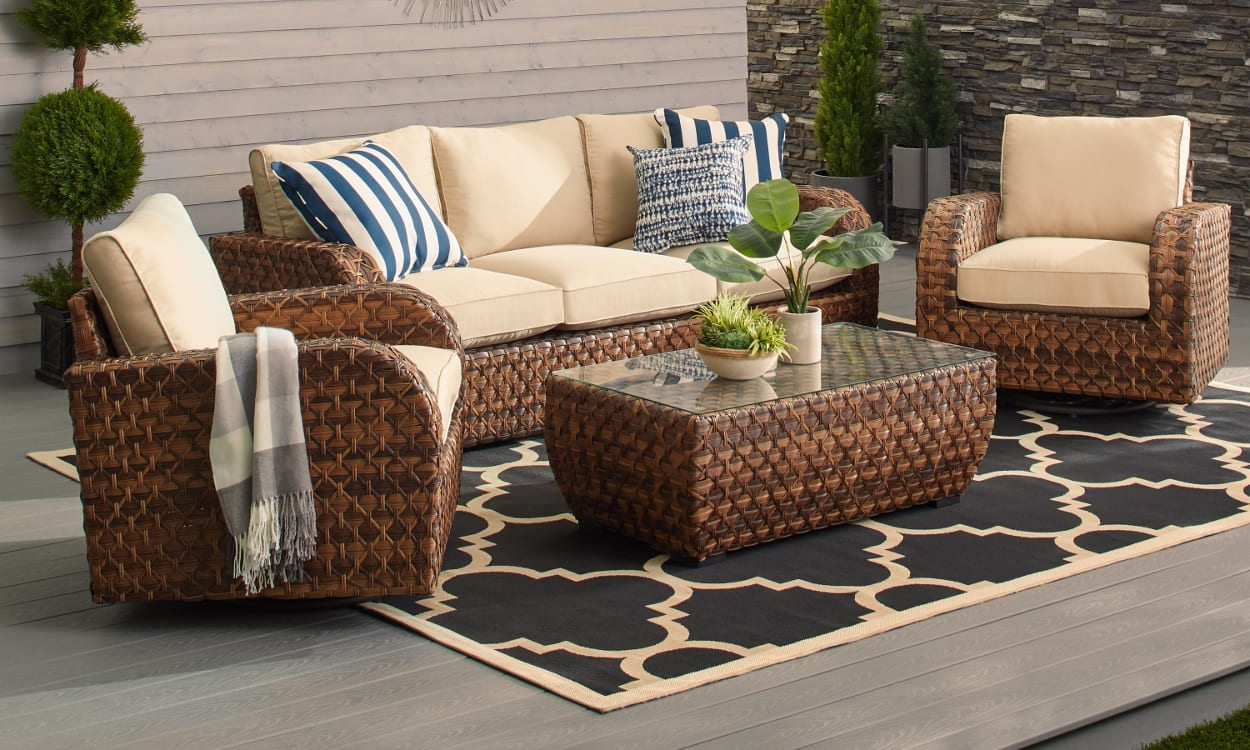 How To Buy Outdoor Furniture That Lasts Overstock Com - Garden Furniture Clearance Ireland