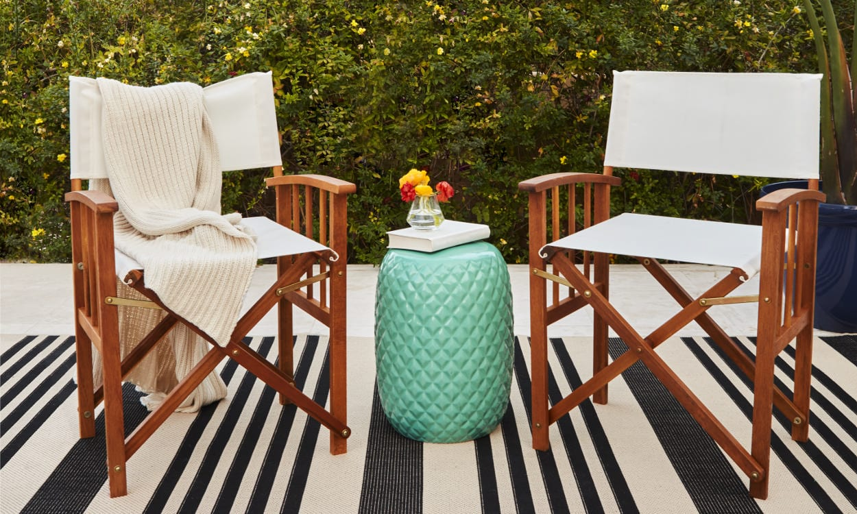 Backyard Chairs How To Choose Patio Furniture For Small Spaces Overstock