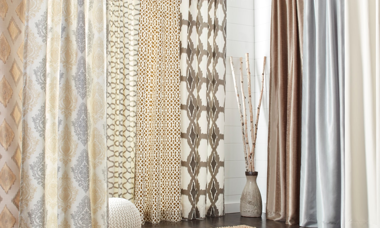 Draping Curtains The Best Types Of Fabric Curtains For Your Home Overstock