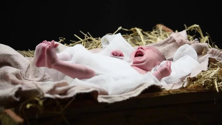 Infant Jesus Hd Wallpapers Nativity Baby Jesus Stock Footage Video 7999210