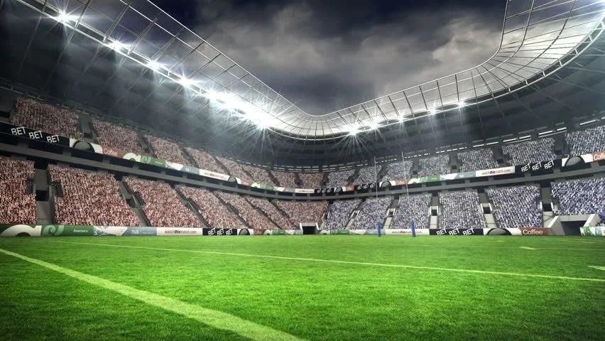Shutterstock Wallpaper 3d Vid 233 O De Stock De View Of A Rugby Stadium In 12447731