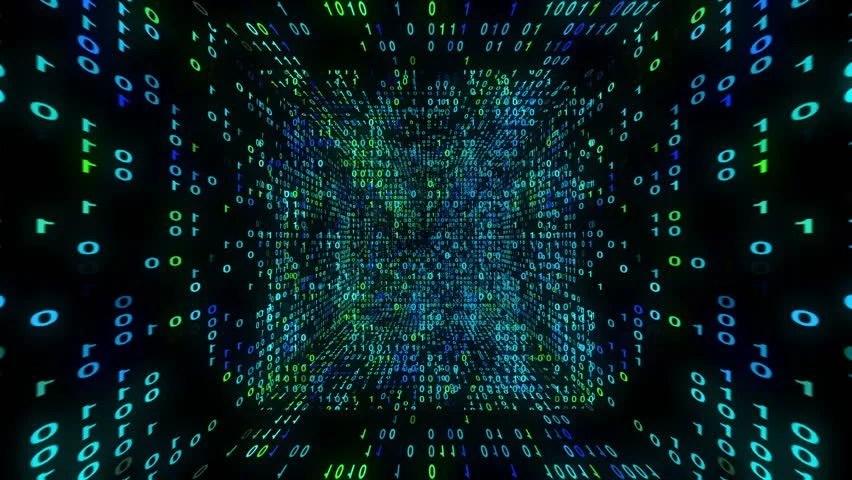 Microsoft Animated Wallpaper Animation Of Binary Data Matrix Stock Footage Video 100