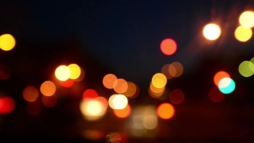 Car Lights Night Wallpaper De Focused Bokeh Or Blur Candle Lighting Abstract
