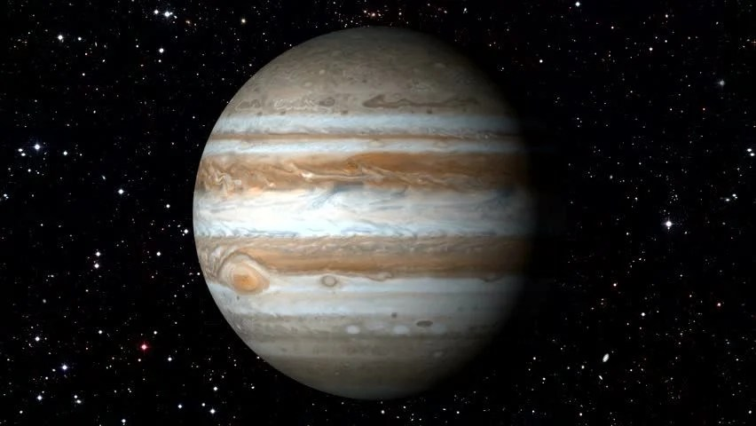 3d Moving Galaxy Wallpaper Animated One Revolution Of Planet Jupiter With Correct