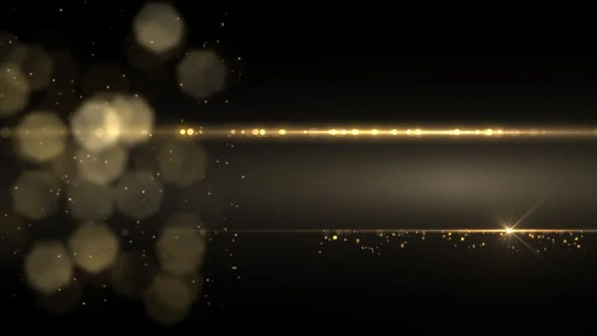 Movement Wallpaper Abstract 3d Abstract White Line And Gold Particles Stock Footage Video