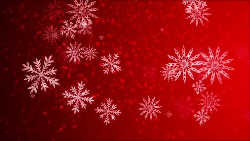 Falling Snow Animated Wallpaper Video Animation Of Many Snowflakes Falling Stock Footage
