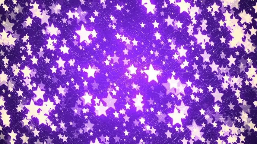 Purple And Blue Falling Stars Wallpaper Abstraction Dark Yellow Particles With Purple Glitter