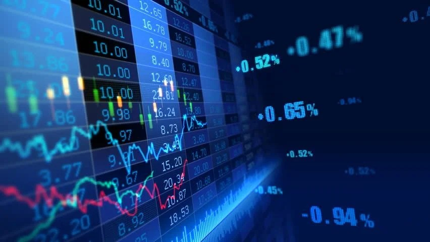 Crypto Wallpaper 3d Stock Market Trend Of Animation Stock Footage Video