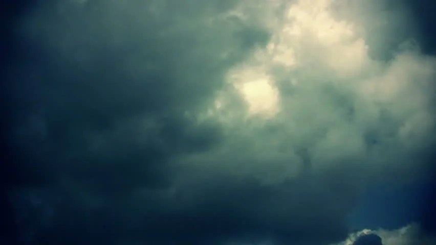 Sky Dark - Background Animation Stock Footage Video (100 Royalty
