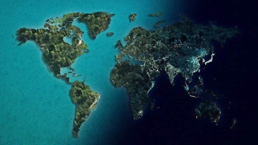 Earth 3d Live Wallpaper Mac Global World Map Animation Separate To Day And Night