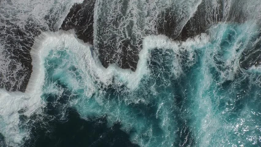 Microsoft Fall Wallpaper Stock Video Of Aerial View Of Jagged Shoreline With