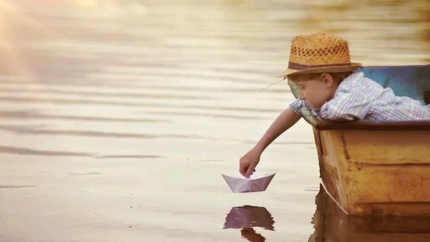 Quiet Girl Wallpaper Download Little Boy Reading At Book Sitting A The Foot Of A Big