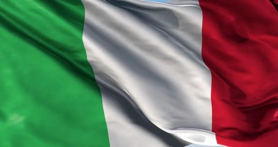 Shutterstock Wallpaper 3d Italian Flag The Flag Of Italy Waving 1080p Stock