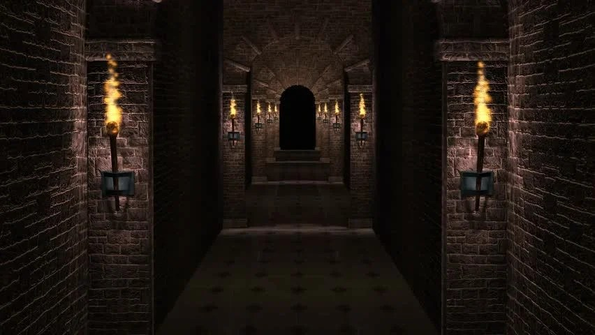 3d Ghost Wallpaper Download Dark Scary Dungeon High Definition Stock Footage Video