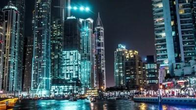 Dubai Marina Walk Time Lapse Stock Footage Video 13686857   Shutterstock