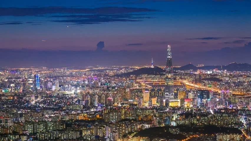 Istanbul Hd Wallpaper South Korea Skyline Of Seoul City The Best View Of South