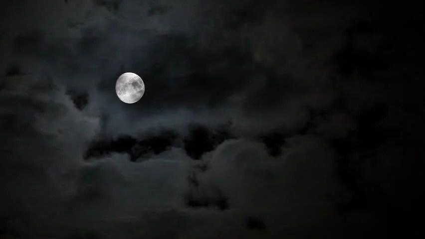 Guru Nanak Dev Ji Hd Wallpaper Full Moon At Night With Cloud Real No Cg Stock Footage