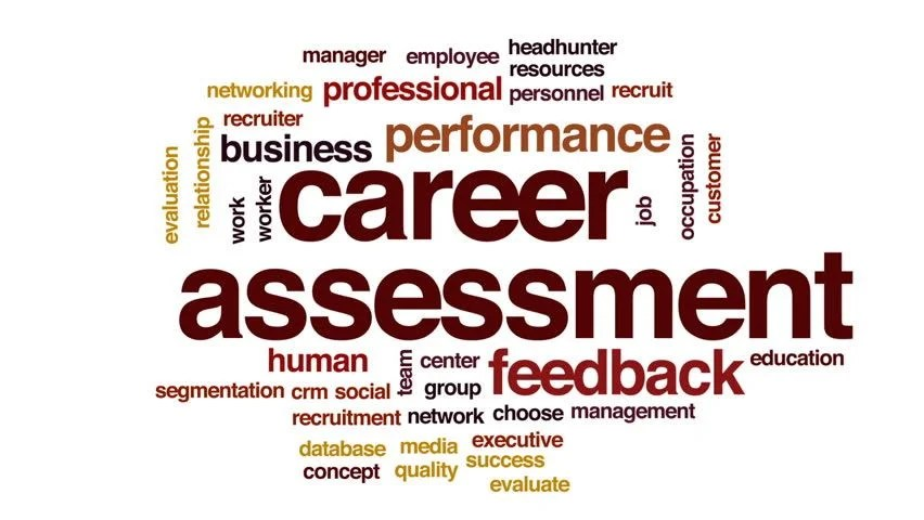 Career Assessment Animated Word Cloud, Stock Footage Video (100