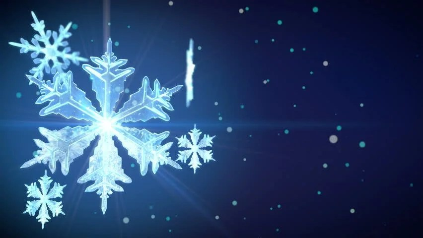 Animated Snow Wallpaper Snowflakes Animation With Animated Quot Happy Stock Footage