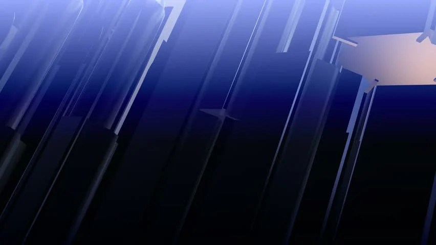 Abstract Blue Communication Background 3d Stock Footage Video (100