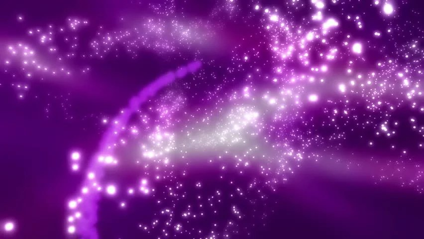 Animated Butterfly Wallpaper Particle Magic In Purple Looping Stock Footage Video 100