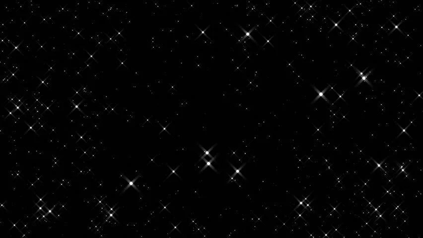 Moving Animation Wallpaper For Desktop Beautiful Sparkling Stars In A Dark Space Stock Footage