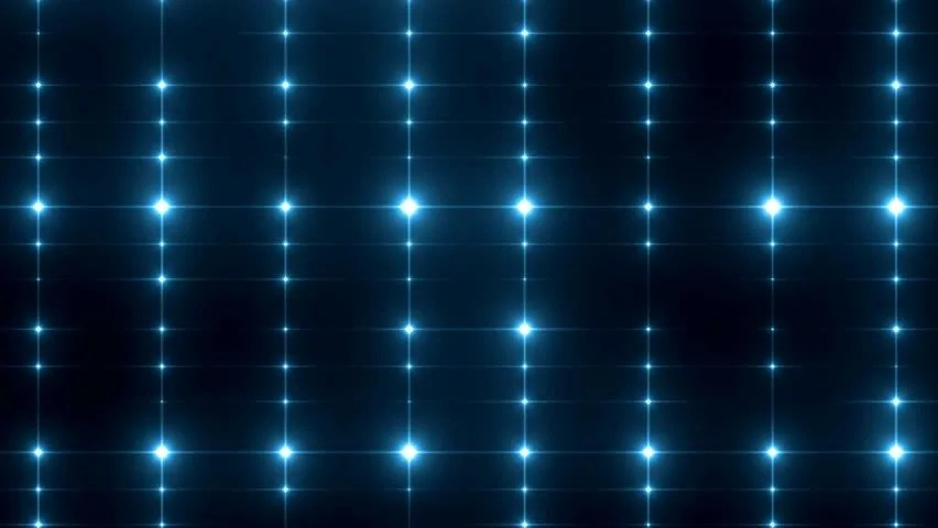 Bright Beautiful Blue Disco Background Stock Footage Video (100