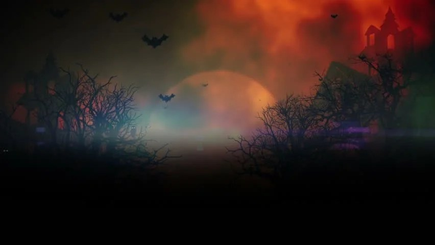 Free Fall Widescreen Wallpaper Halloween Ghosts Night Hd Collection 16 Wallpapers