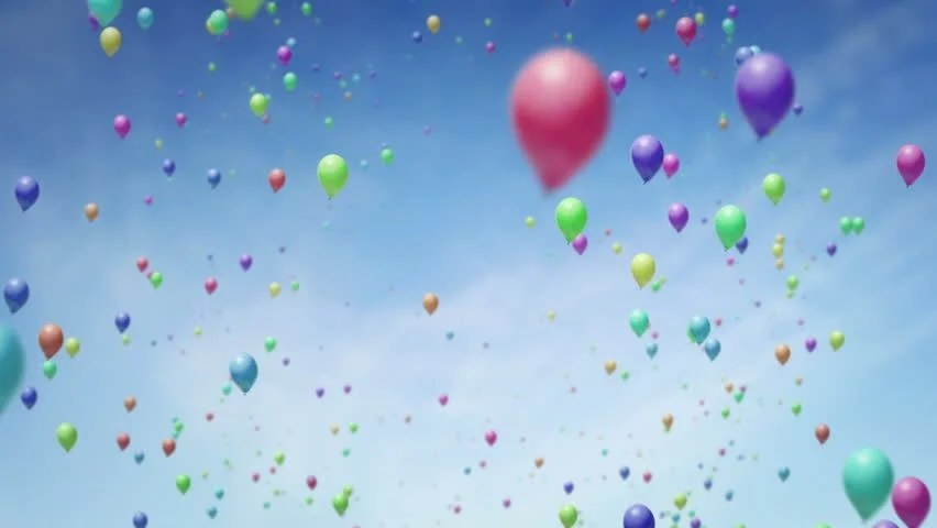 Balloons Free Stock Video Footage - 4K and HD Video Clips Shutterstock