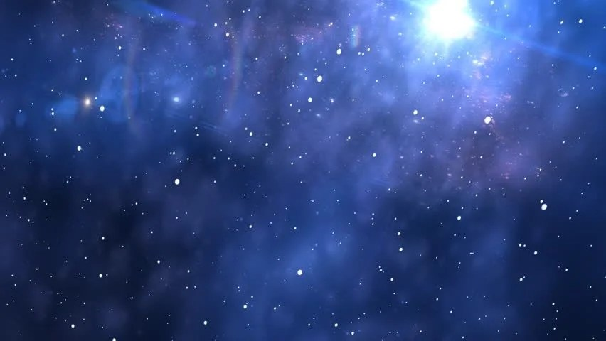 Snow Falling Live Wallpaper Download The Starry Night Animation Stock Footage Video 1977604