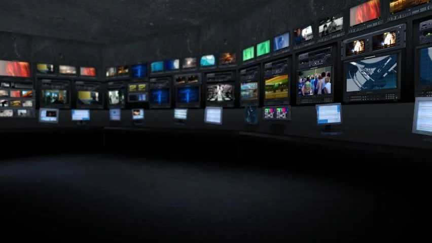 3d Crystal Wallpaper Newsroom Background For Virtual Studio Stock Footage