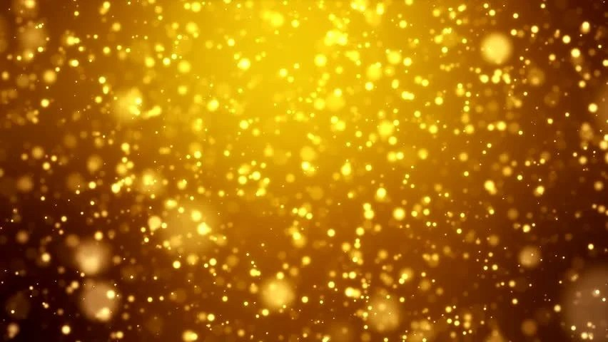 3d Xmas Wallpaper Free Video Animation Of Christmas Golden Light Shine Particles