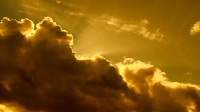 Close Up Of Bright Shining Sun Rising Above Clouds. Stock Footage Video 8468884 | Shutterstock