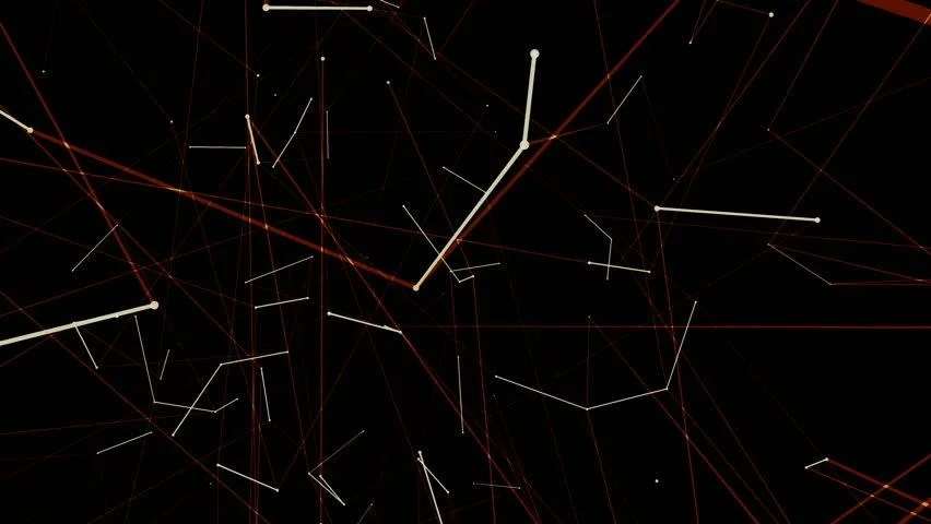 Animated Computer Background Video Screen Stock Footage Video (100