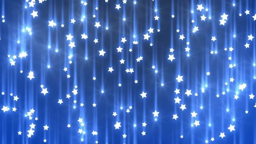 Falling Stars Gif Wallpaper Shiny Gold Stars Continuous Loop 680 Frame Loop Of Gold