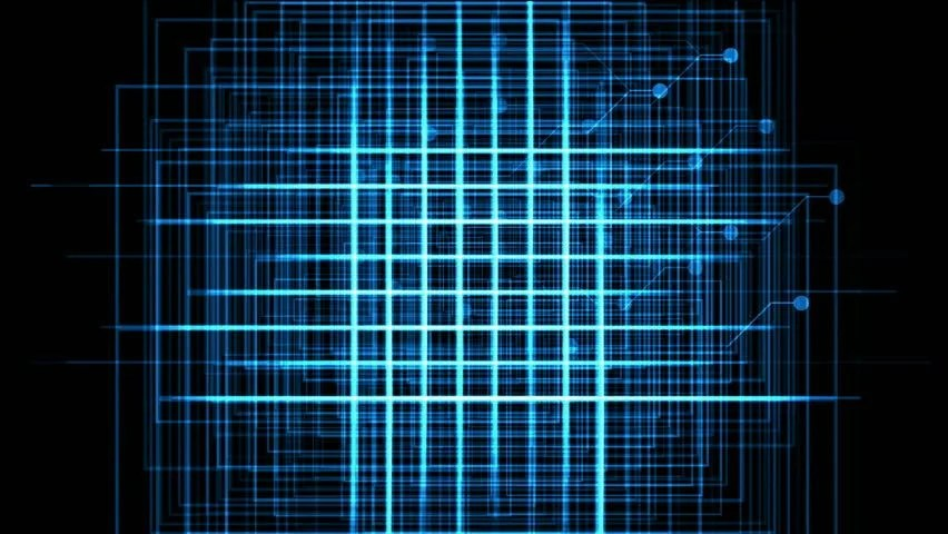 3d Wallpapers Computer Room Abstract Digital Vertical And Horizontal Elettric Blue