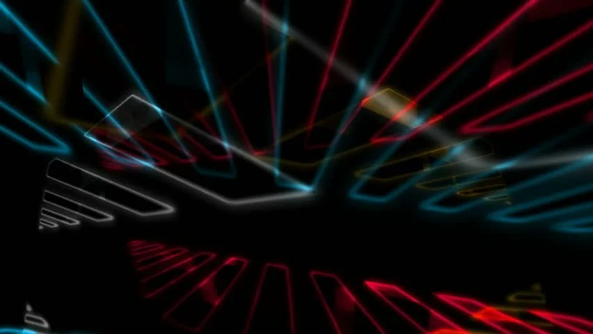 3d Rainbow Psychedeli Wallpaper Abstract Cgi Motion Graphics And Animated Background Of