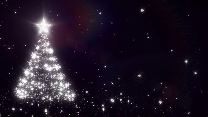 Free Animated Falling Snow Wallpaper Christmas Background With Bright Snow Blue Bright