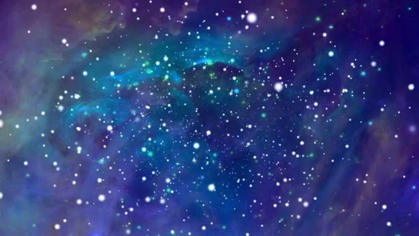 Glitter 3d Wallpaper Stock Video Of Colorful Space Background 1288234