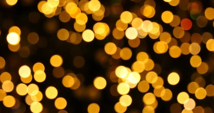 Shutterstock Hd Wallpapers Abstract Background Yellow Bokeh Lights Stock Footage