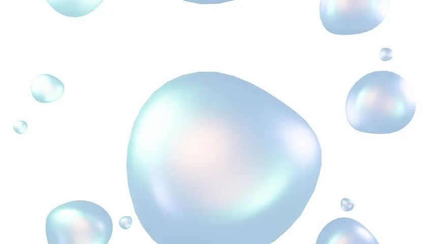 4K Soap Bubbles With Alpha Matte On A Black Background Stock Footage Video 22986403 | Shutterstock