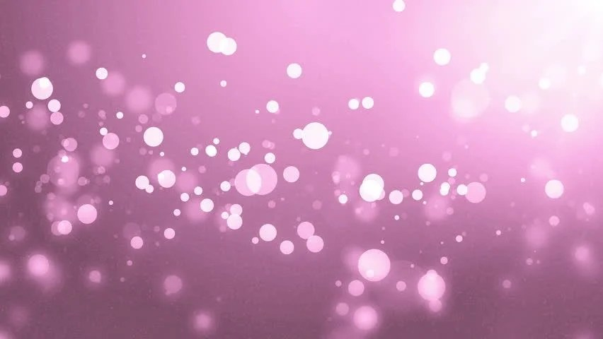 Abstract Lights Bokeh Pink Background Stock Footage Video (100