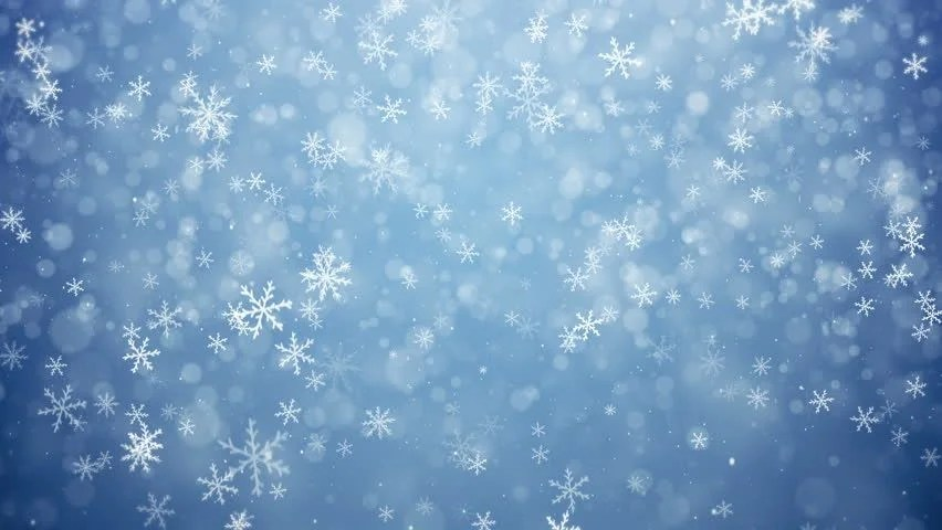 Falling Snow Wallpaper Download Falling Snowflakes Snow Background Animation Stock