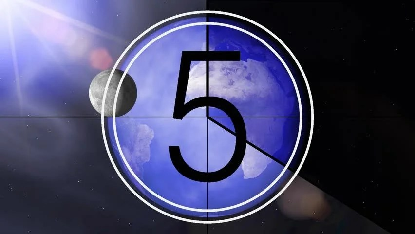 Universal Leader Countdown Clock Stock Footage Video (100 Royalty