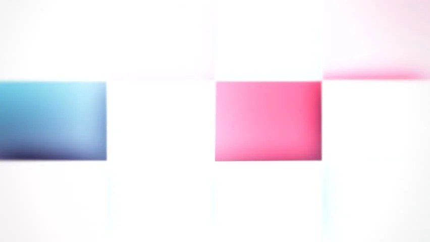 Abstract Color Boxes Background ( Stock Footage Video (100 Royalty