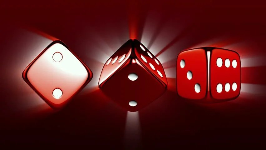 3d Dice Desktop Wallpaper Stock Video Clip Of Casino Dices Spinning Casino Theme