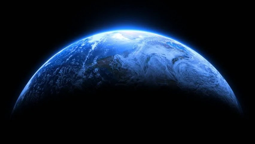 Earth And Moon 3d Live Wallpaper Stock Video Of Planet Earth Dramatic Full Frame Loop