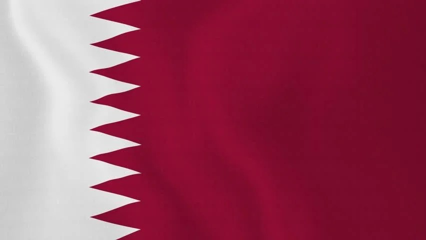Doha Wallpaper Hd Nice Animation Of The National Qatar Flag In 3d Map Of